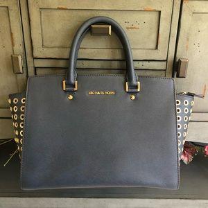 Michael Kors Selma Grommet Bag (Large)